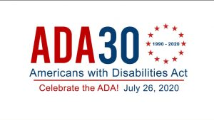 ADA30 logo with circle of stars